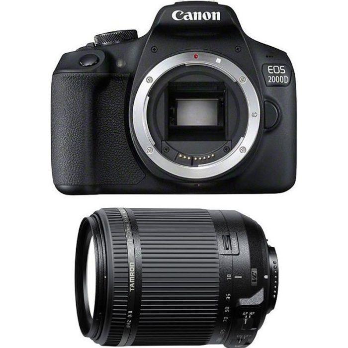 CANON EOS 2000D + TAMRON 18-200 F/3.5-6.3 Di II VC GARANTI 3 ans