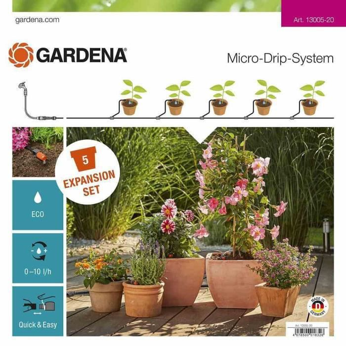 Gardena Expansion set Micro-Drip-System Orange 35 x 20 x 19 cm 13005-20