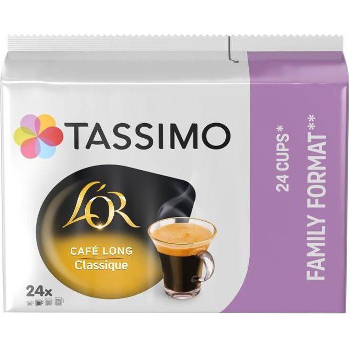 TASSIMO Café Dosettes Café Long Classique - x24 boissons