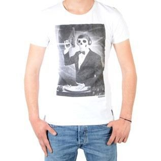 Tee Shirt Japan Rags Link Blanc
