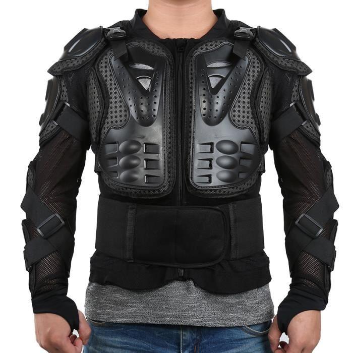 Blouson d'armure de moto Gilet d'armure de motocross Pièce d'équipement de poitrine