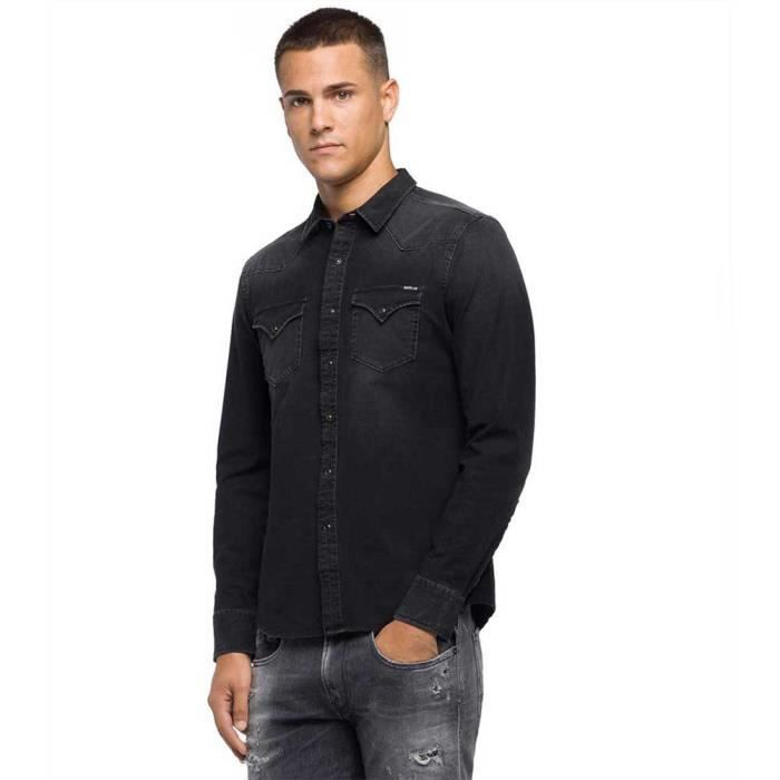 Vêtements Homme Chemises Replay M4001
