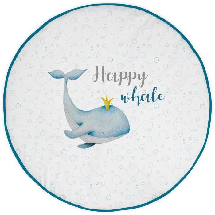 TANUKI Happy Whale Tapis first steps -