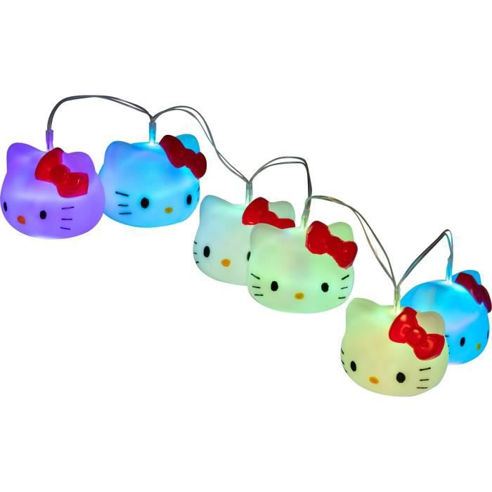 HELLO KITTY Guirlande lumineuse Couleur interchangeable