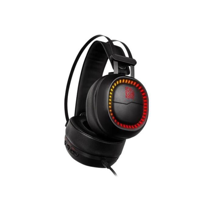 TTESPORTS Casque gaming - Membrane néodyme - 40mm