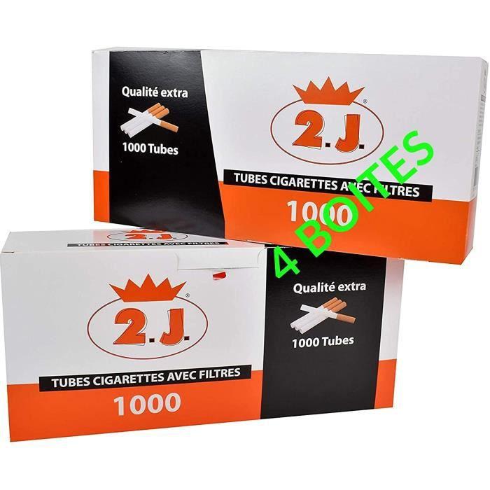 8 Boîtes de 500 KORONA 4000 TUBES à cigarettes SLIM KORONA SLIM