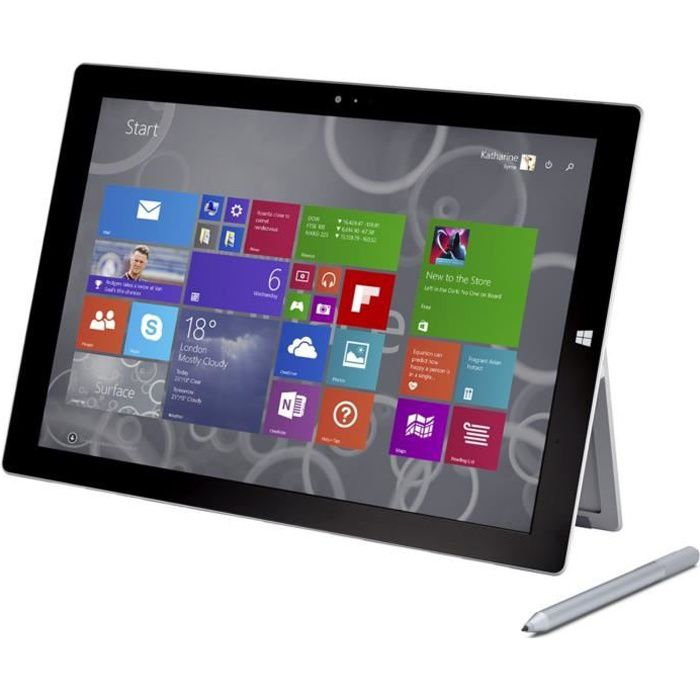 microsoft surface i5 128gb w10 tablette tactile ipad ordinateurpascher. Black Bedroom Furniture Sets. Home Design Ideas