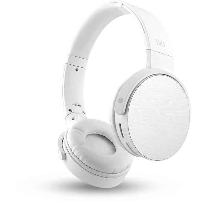 T'nB CBSHINEWH2 Shine Casque Bluetooth 4