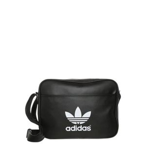 BESACE - SAC REPORTER Sac besace ADIDAS AIRLINER CLASSIC BLACK/WHITE
