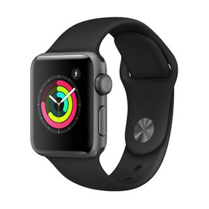 MONTRE CONNECTÉE APPLE Watch Series 3 GPS - Boîtier 38 mm Gris sidé