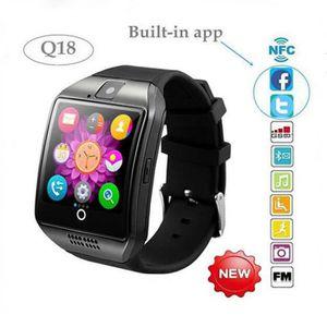 MONTRE CONNECTÉE Q18 Bluetooth montre Smart Watch Phone Assistance