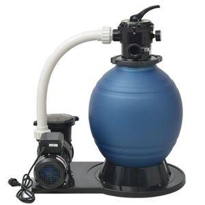 POMPE - FILTRATION  CESAR 1000W Pompe de filtration à sable 16800 l-h