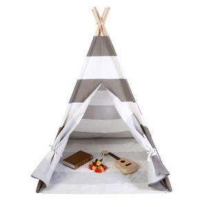 TENTE DE CAMPING Enfants Tipi Enfants Jeu Playhouse Tente Portable