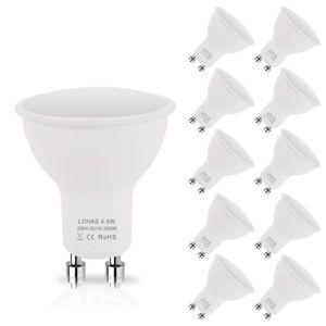 AMPOULE - LED 10X LOHAS 40W Ampoule Halogène Équivalent, GU10 4.