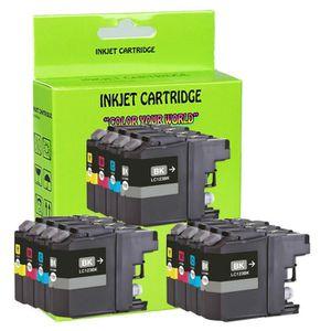CARTOUCHE IMPRIMANTE 12 Chipped Cartouche d'encre pour Brother MFC-J451