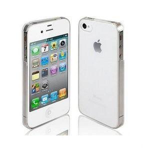 COQUE - BUMPER Coque Rigide Transparente pour Apple iPhone 4S 4 4