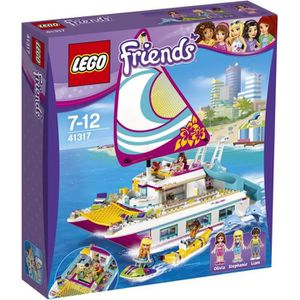 ASSEMBLAGE CONSTRUCTION LEGO® Friends 41317 Le Catamaran