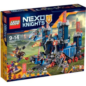 ASSEMBLAGE CONSTRUCTION LEGO® Nexo Knights 70317 Le Fortrex