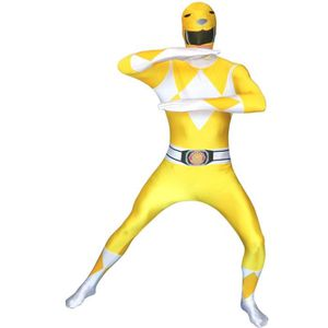 DÉGUISEMENT - PANOPLIE Morphsuits Power Rangers Jaune