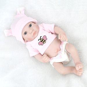 POUPÉE 28 cm Belle Enfants Reborn Bébé Poupée Lavable Sou