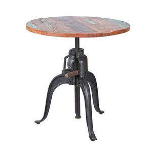 Table bar bois achat vente table bar bois pas cher for Achat table bar