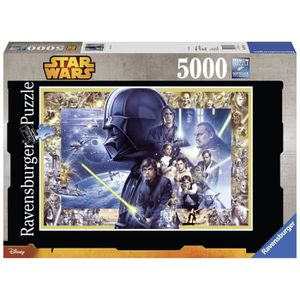 PUZZLE STAR WARS Puzzle Saga 5000 pcs - Disney