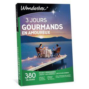 COFFRET SÉJOUR Wonderbox - Coffret cadeau de noel pour deux - 3 J