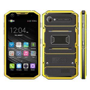 Téléphone portable Smartphone Antichoc Android 5.1 Téléphone Incassab
