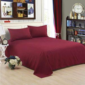 PARURE DE DRAP drap de dessus drap de lit 200*230cm linge de lit