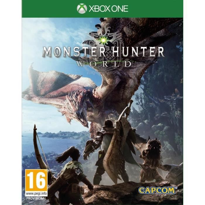 Monster Hunter World Jeu Xbox One