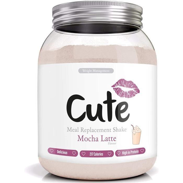 Cute Nutrition Substituts de Repas Mocha Latte Pour Contrôler Votre Perte de Poids Boisson Diététique en Poudre Pour Femmes Fabriqué