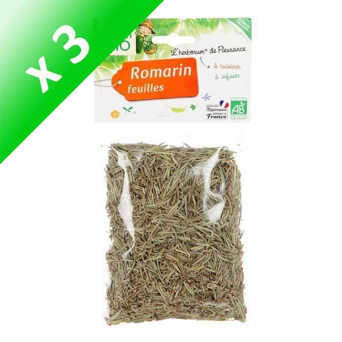 [LOT DE 3] JARDIN BIO Romarin bio - 40 g