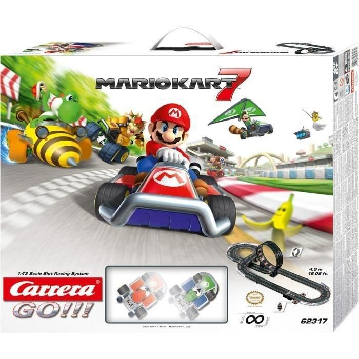 MARIO KART 7 Circuit voiture Carrera Go !