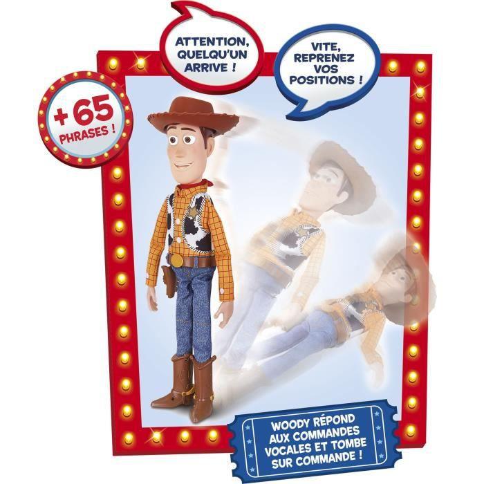LANSAY Toy Story 4 Figurine Incroyable Woody - Mixte - À partir de 4 ans