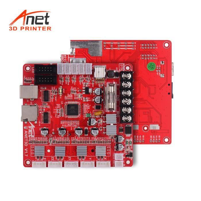 Anet A1284 Base V1.7 Base Carte Mère Carte Mère pour Anet A8 Plus Bricolage Auto Assemblage 3D Imprimante De Bureau Reprap i3 K G