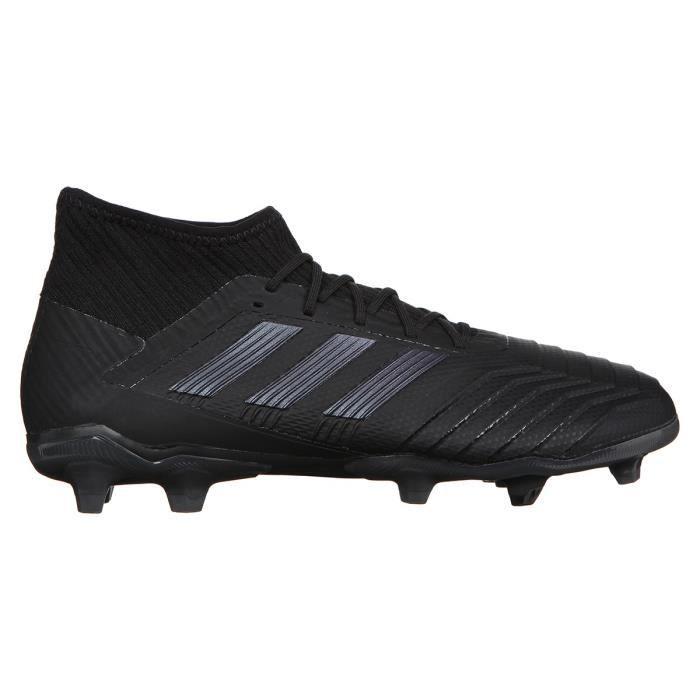 ADIDAS PERFORMANCE Chaussures de Football Predator 19.2 J FG - Homme - Noir