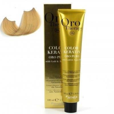 color keratin oro puro n°9.0 blond tres clair 1…
