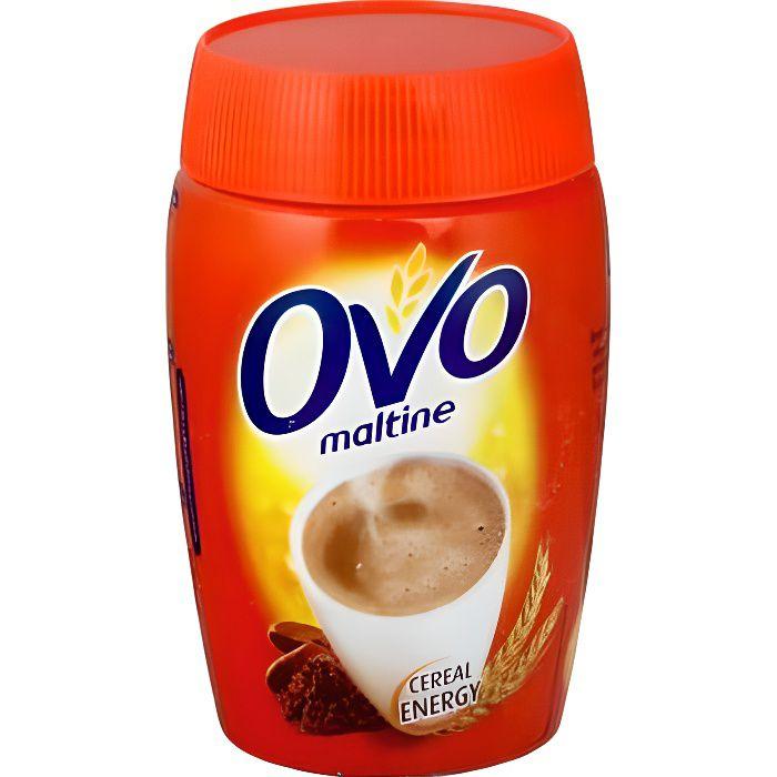 OVOMALTINE Chocolat en poudre de malt d'orge - 400 g