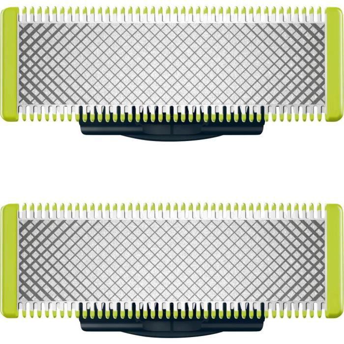 ACCESSOIRES BEAUTE - BIEN-ETRE - PIECES BEAUTE - BIEN-ETRE - Lames de rasoir Philips OneBlade QP220/50 noir 2 pc(s)