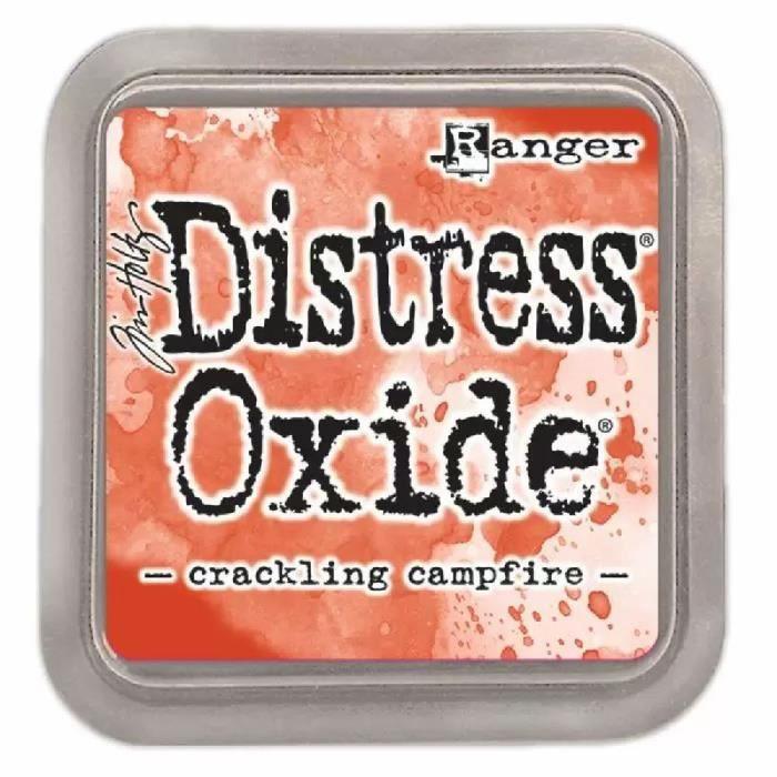 Encreur Distress Oxide de Ranger - Ranger distress :Crackling Campfire