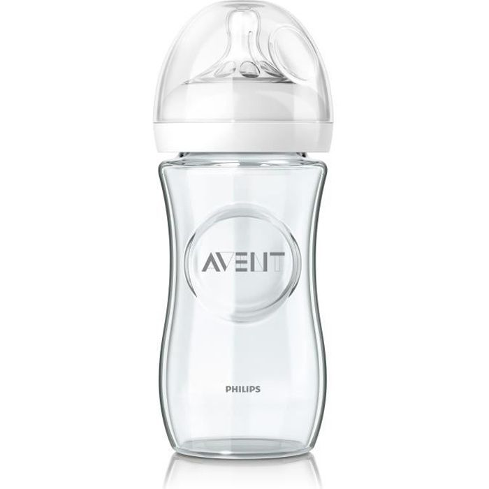PHILIPS AVENT Natural Biberon Verre SCF673/17