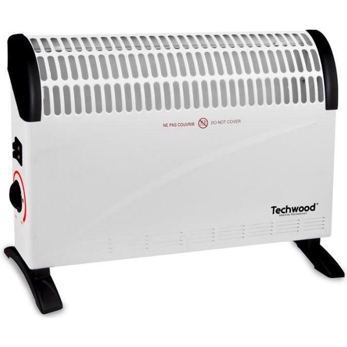 Chauffage Convecteur 1500w TECHWOOD