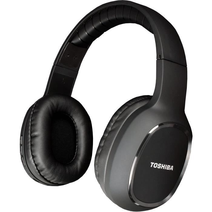 TOSHIBA RZE-BT160H Casque arceau Sport - Bluetooth - Noir