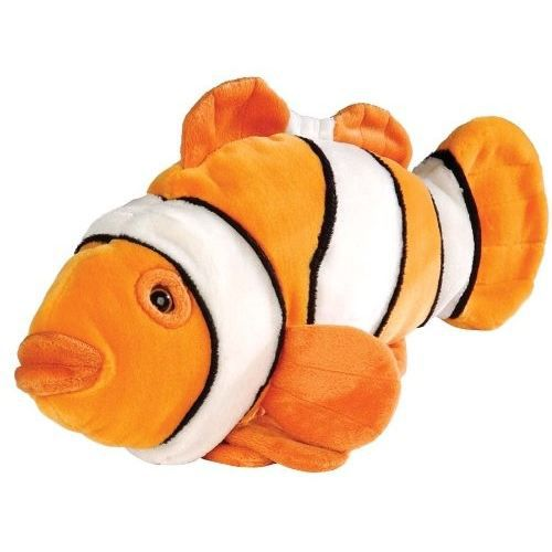Peluche poisson clown 30 cm cuddlekins wild achat for Poisson clown achat