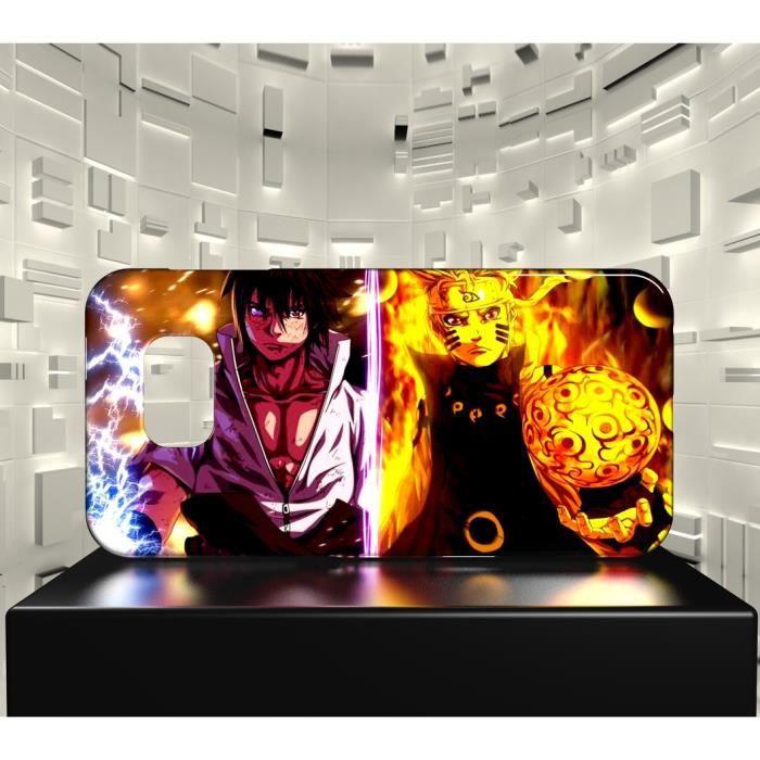 Coque Samsung Galaxy S6 Edge MAF Naruto Shippuden Naruto Sasuke ...