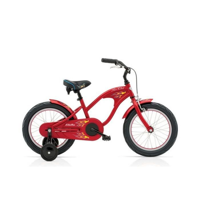 beach cruiser enfant electra mini rod 16 rouge prix pas cher cdiscount. Black Bedroom Furniture Sets. Home Design Ideas