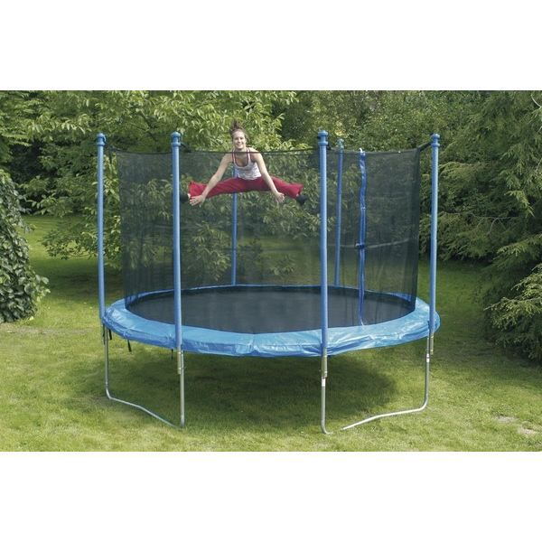 trampoline 305 cm achat vente trampoline trampoline. Black Bedroom Furniture Sets. Home Design Ideas