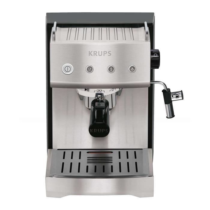 expresso inox krups yy8202fd achat vente machine. Black Bedroom Furniture Sets. Home Design Ideas