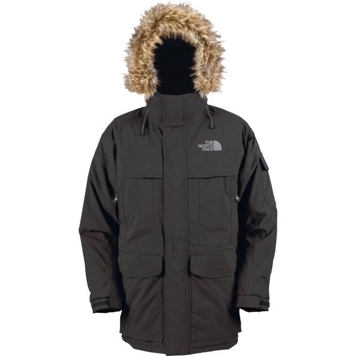 BLOUSON THE NORTH FACE Veste Mcmurdo Parka - Homme - Noir