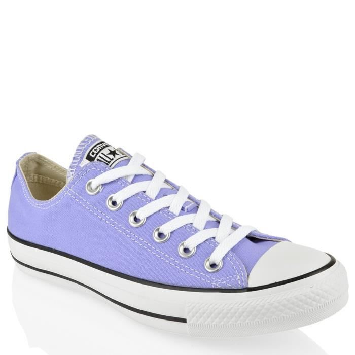 Converse - Converse all star CT OX Chausseres Petite Fille Lilas Toile 342375